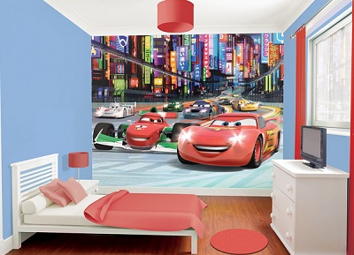 Disney Cars Mural Part 75