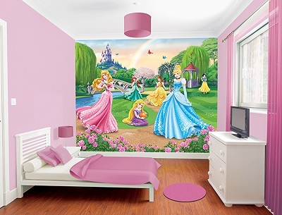 Disney Princess Mural Part 81