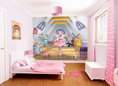 kids wall murals uk