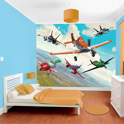 Fairy princess mural fairy princess mural for Disney planes wallpaper mural